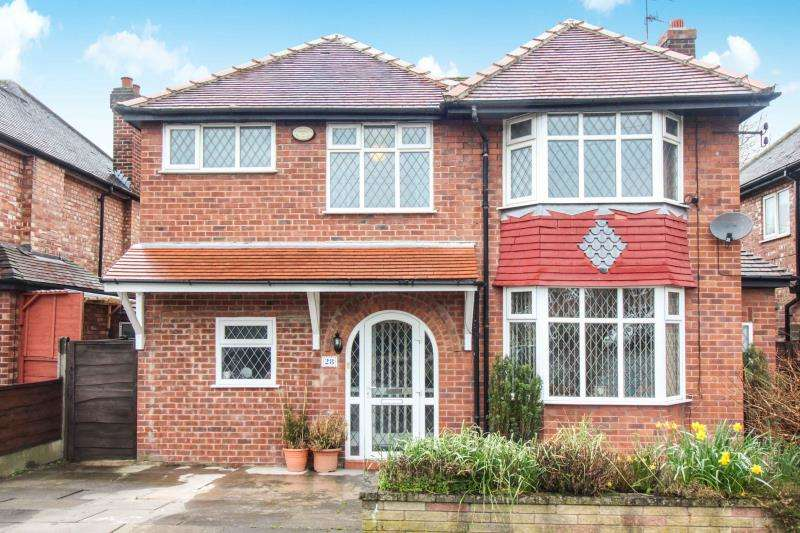 4 Bedrooms Detached House for sale in South Park Road, Gatley