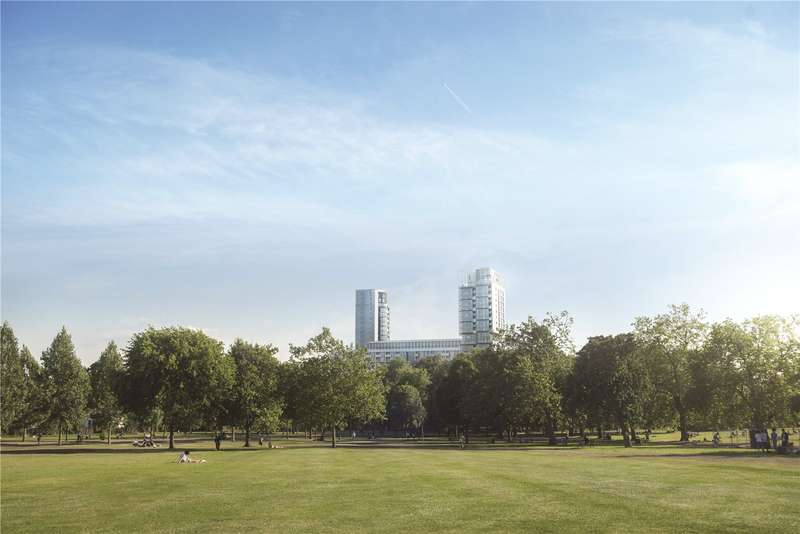 2 Bedrooms Apartment Flat for sale in One City North, The Rectangular Tower, Finsbury Park, London, N4