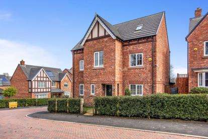 5 Bedrooms Detached House for sale in Duxbury Manor Way, Chorley, Lancashire, PR7