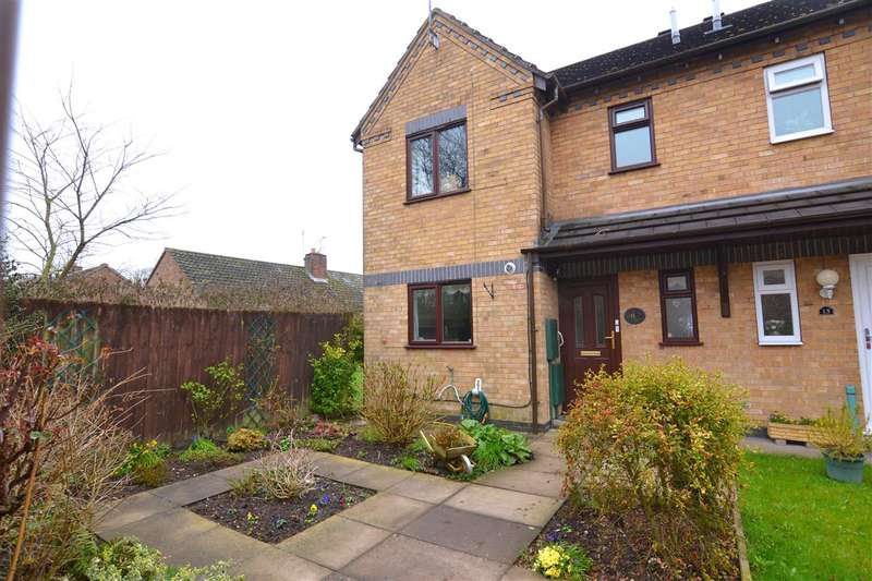 3 Bedrooms End Of Terrace House for sale in Waterside Court, Stafford