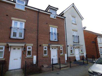 4 Bedrooms Terraced House for sale in Hornbeam Way, Kirkby-In-Ashfield, Nottingham