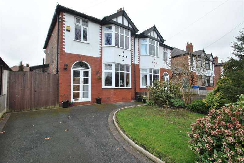 3 Bedrooms Semi Detached House for sale in Chester Road, GRAPPENHALL, Warrington, WA4