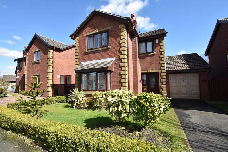 3 Bedrooms Detached House for sale in Church Meadow, Unsworth, Bury, BL9