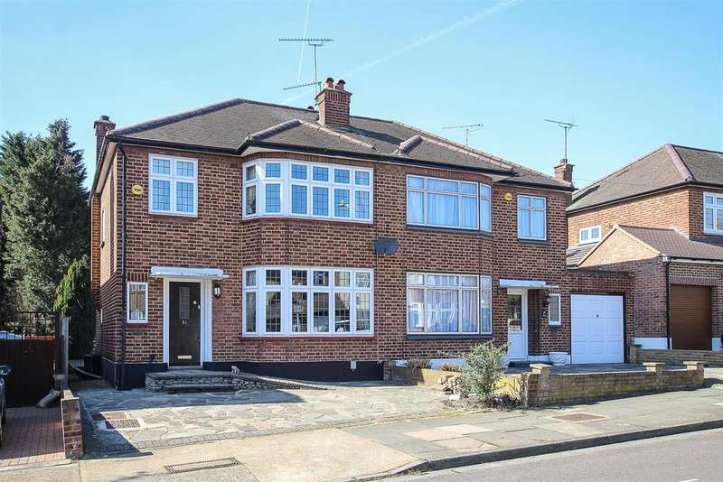 3 Bedrooms Semi Detached House for sale in Lodge Avenue, Romford