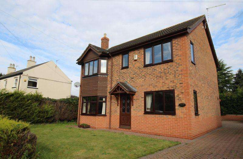 4 Bedrooms Detached House for sale in Kettlethorpe Road, Laughterton, Lincoln