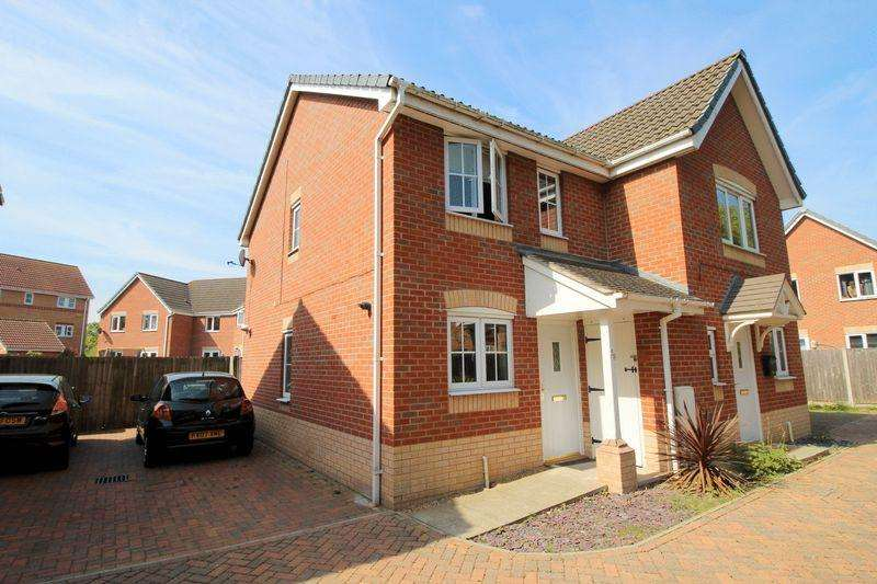 2 Bedrooms Semi Detached House for sale in Remus Court, North Hykeham, Lincoln