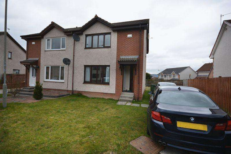 2 Bedrooms Semi-detached Villa House for sale in Hirst Crescent, Stirling