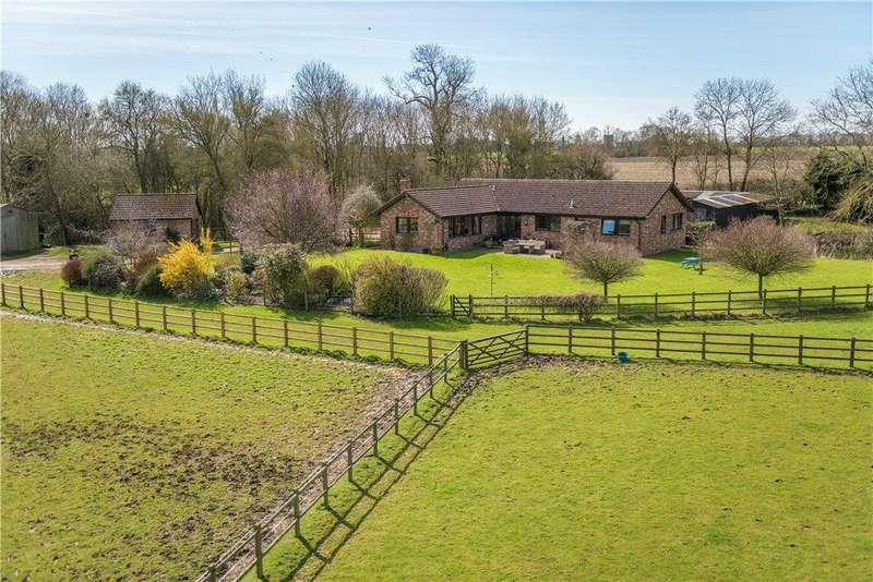 5 Bedrooms Detached Bungalow for sale in Little Polviere, Thurleigh, Bedfordshire