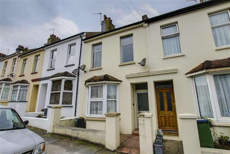 3 Bedrooms Terraced House for sale in Evelyn Avenue, Newhaven
