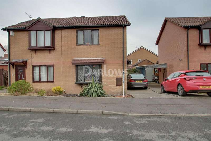 2 Bedrooms Semi Detached House for sale in Pennyroyal Close, St Mellons, Cardiff