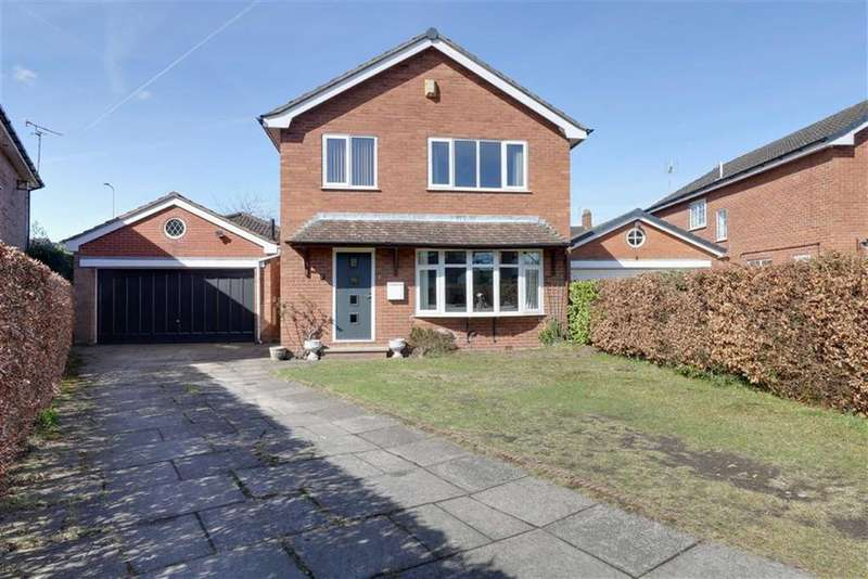 4 Bedrooms Detached House for sale in Pickwick Close, Sandbach