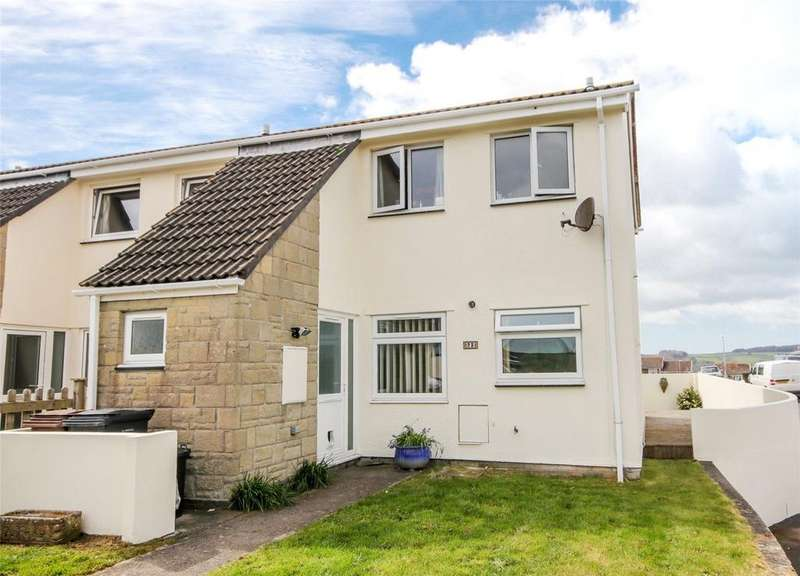 3 Bedrooms End Of Terrace House for sale in Kenwith Drive, Kingsbridge, Devon, TQ7