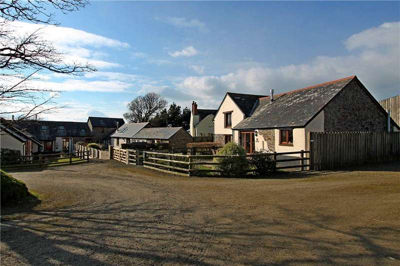 2 Bedrooms Semi Detached House for sale in 10 Exmansworthy Barns, Hartland, Devon