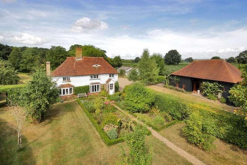 4 Bedrooms Detached House for sale in Goudhurst Road, Staplehurst, Kent, TN12 0HQ