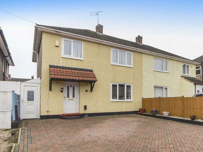 3 Bedrooms Semi Detached House for sale in GRANTHAM AVENUE, BREADSALL HILLTOP