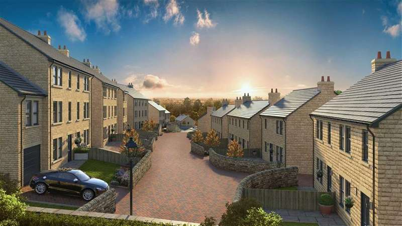 3 Bedrooms Semi Detached House for sale in Church Lane, New Mills, High Peak, Derbyshire