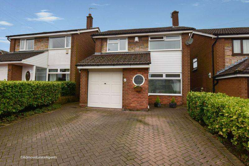 3 Bedrooms Detached House for sale in Mardale Crescent, Lymm