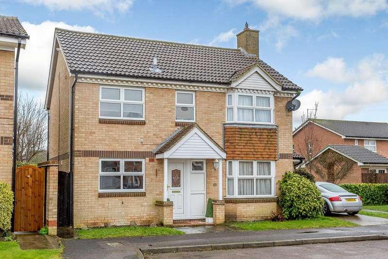 4 Bedrooms Detached House for sale in Rye Gardens, BALDOCK, SG7