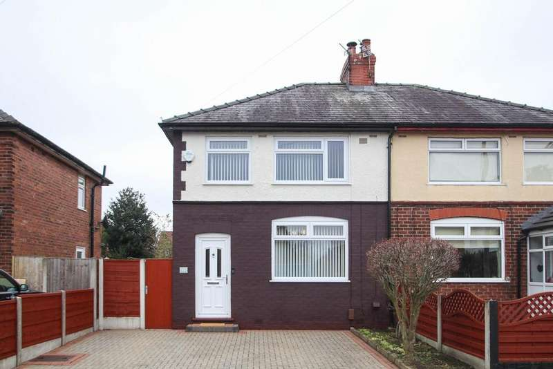 3 Bedrooms Semi Detached House for sale in Central Drive, Urmston, Manchester, M41