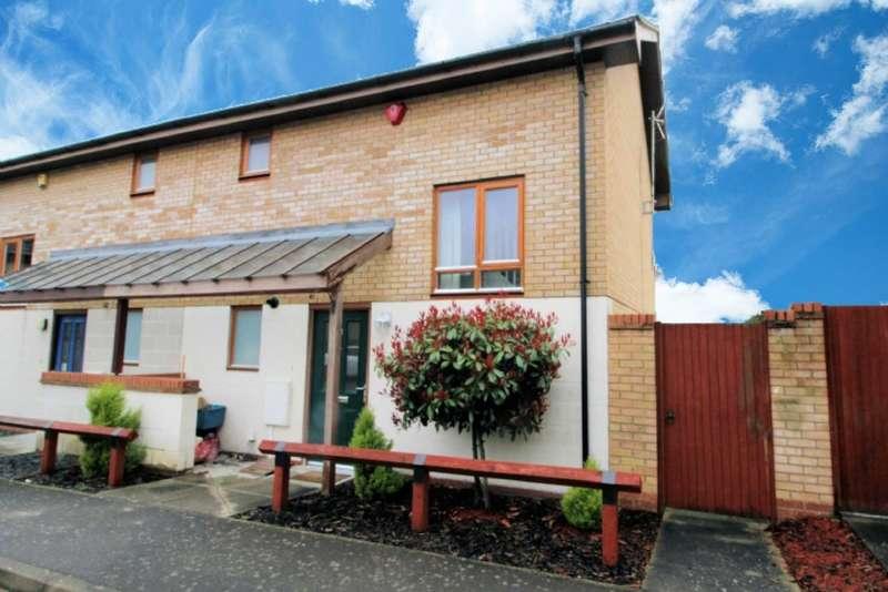 2 Bedrooms Semi Detached House for sale in Kramer Court, Grange Farm, Milton Keynes