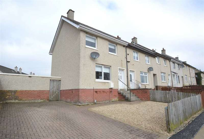 2 Bedrooms End Of Terrace House for sale in Woodilee Road, Newarthill, Motherwell