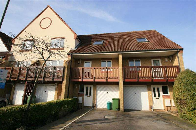 3 Bedrooms Terraced House for sale in Tintagel Way, Port Solent, Portsmouth