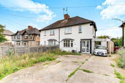 2 Bedrooms Semi Detached House for sale in Tristram Road, Hitchin, Hertfordshire