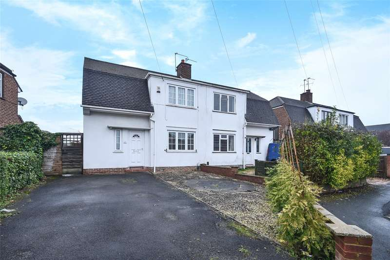 2 Bedrooms Semi Detached House for sale in Heatherden Close, Reading, Berkshire, RG2