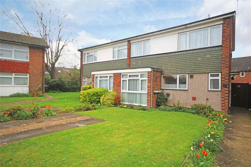 4 Bedrooms Semi Detached House for sale in Dale Close, Addlestone, Surrey, KT15