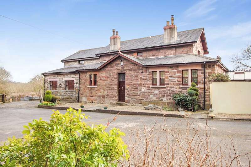 3 Bedrooms Detached House for sale in Penpergwm, Abergavenny, NP7