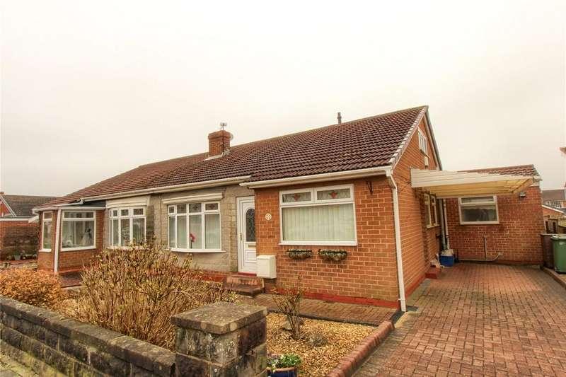 3 Bedrooms Semi Detached Bungalow for sale in Langton Avenue, Wolviston Court