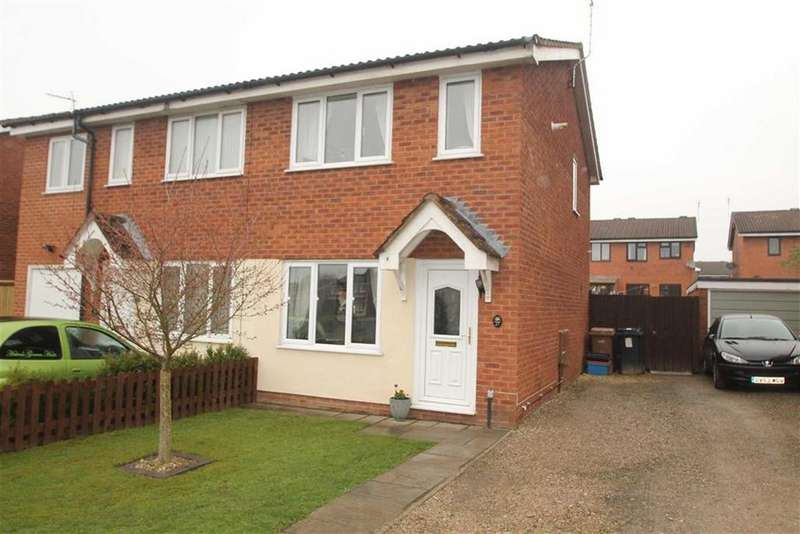 2 Bedrooms Semi Detached House for sale in Aston Way, Oswestry