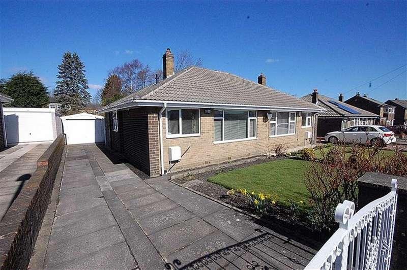 2 Bedrooms Semi Detached Bungalow for sale in Marten Drive, Netherton, Huddersfield, HD4