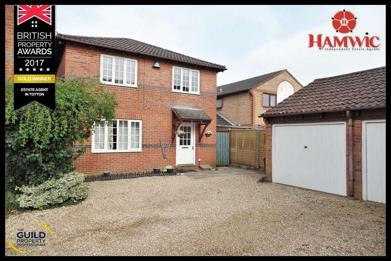 4 Bedrooms Detached House for sale in Bilberry Drive, Marchwood , Southampton SO40