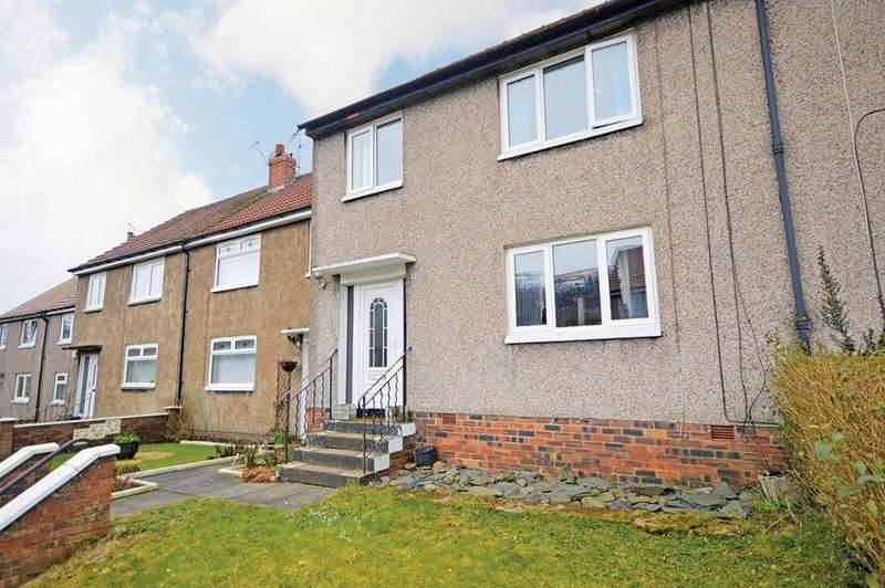 3 Bedrooms Villa House for sale in 9 Bencloich Crescent, Lennoxtown, Glasgow, G66 7NA