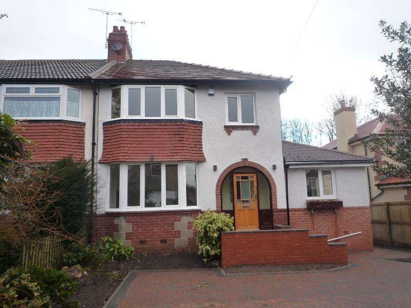 3 Bedrooms Semi Detached House for rent in LYNTON AVENUE, BOSTON SPA, LS23 6BL