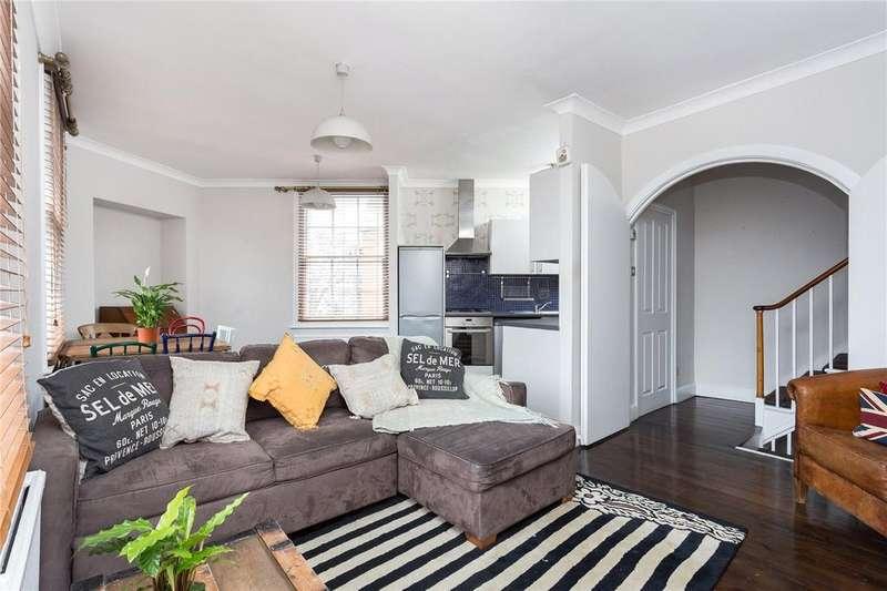 2 Bedrooms Maisonette Flat for sale in Canonbury Road, Islington, N1
