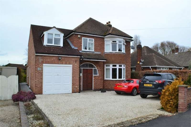 5 Bedrooms Detached House for sale in Sunnyside, Hinckley