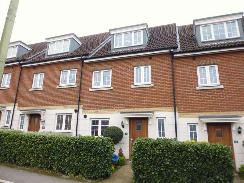4 Bedrooms Terraced House for sale in Mortimer Road, Stowmarket