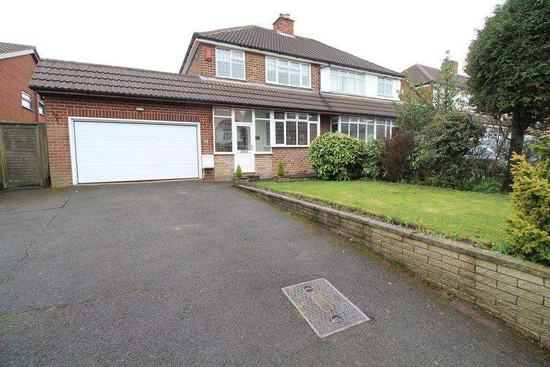 3 Bedrooms Semi Detached House for sale in Castle Road, Walsall Wood