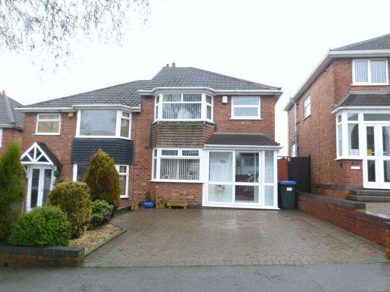 3 Bedrooms Semi Detached House for sale in Lechlade Road, Great Barr
