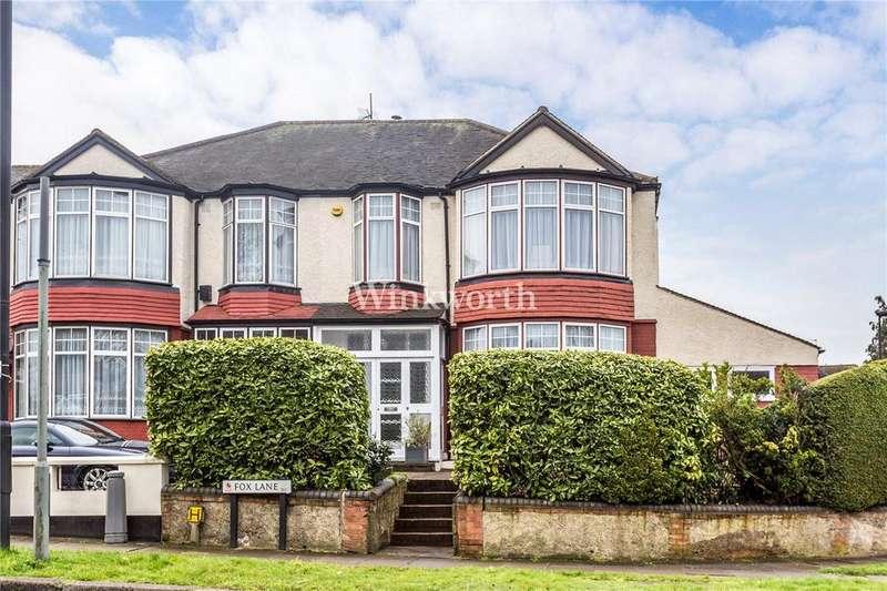 4 Bedrooms Semi Detached House for sale in Fox Lane, London, N13