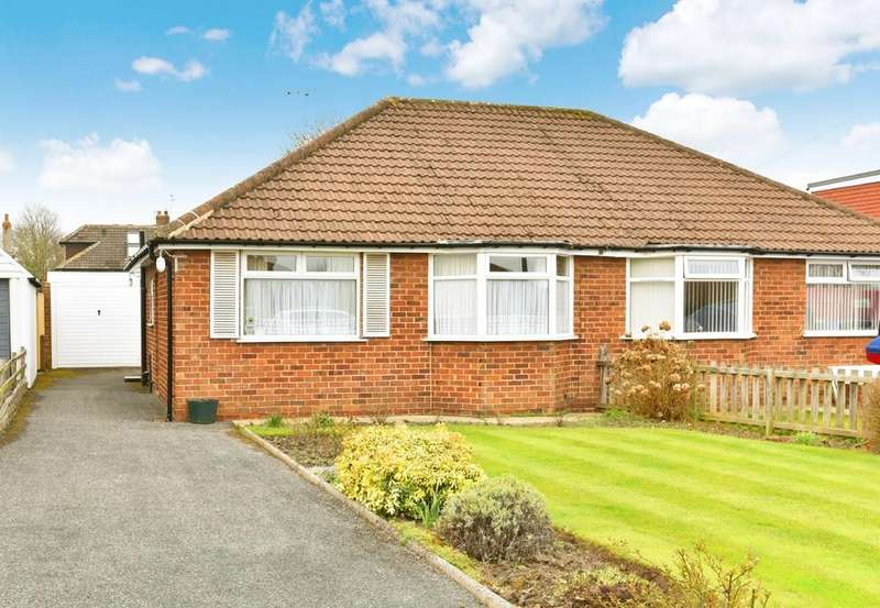 2 Bedrooms Semi Detached Bungalow for sale in Gordon Avenue, Harrogate