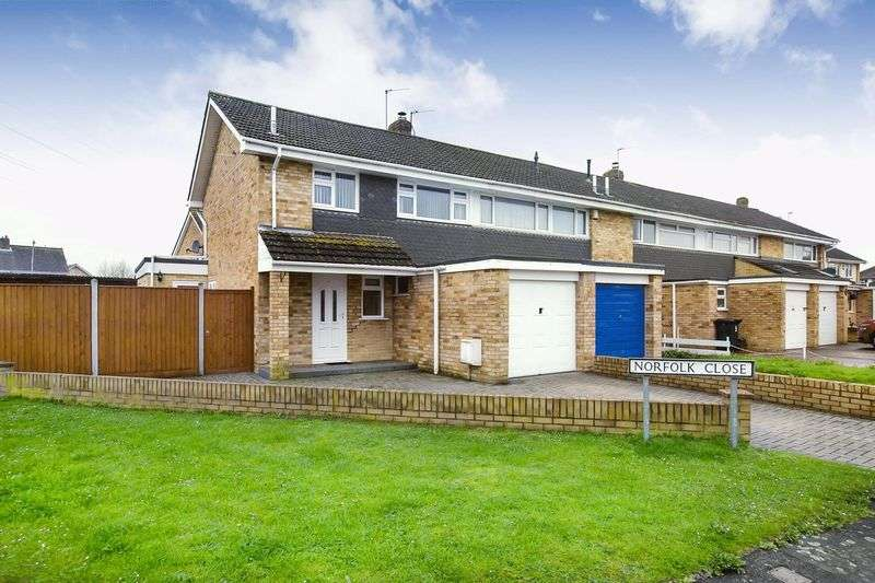 4 Bedrooms Property for sale in Norfolk Close, Bridgwater