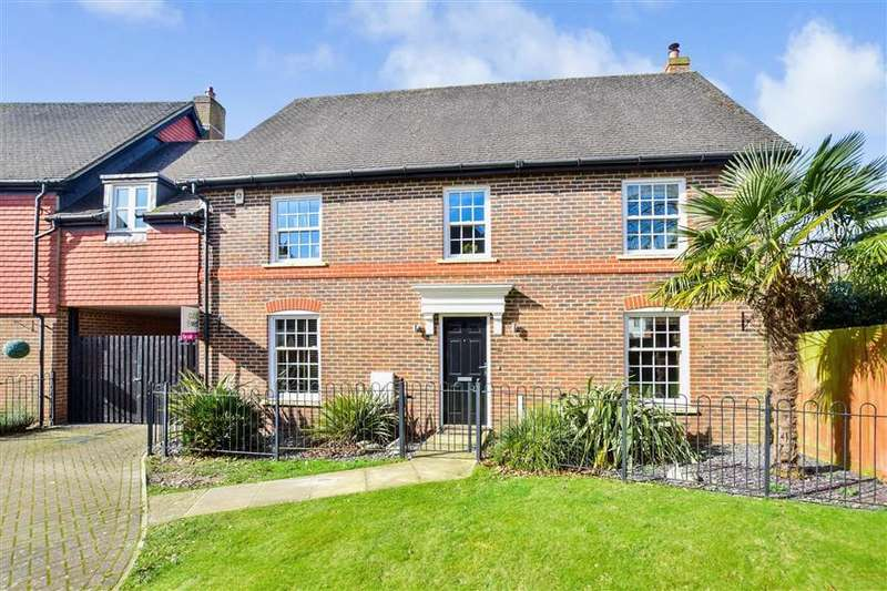 5 Bedrooms Link Detached House for sale in The Willows, Parbrook, Billingshurst, West Sussex