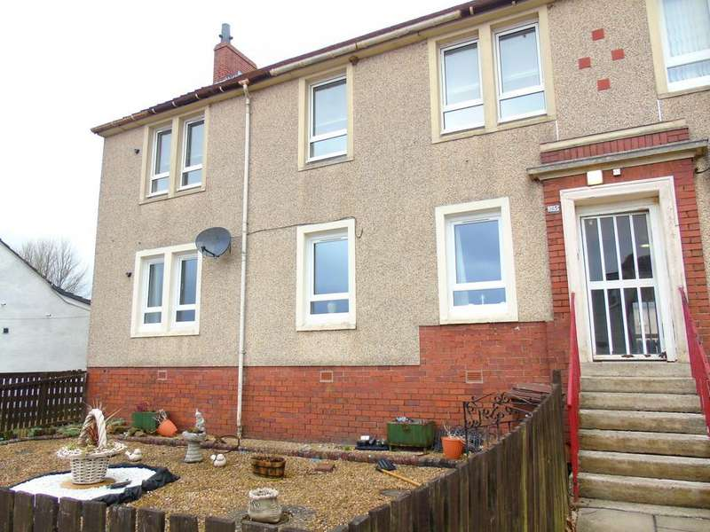 3 Bedrooms Apartment Flat for sale in Greengairs Road, Greengairs, Airdrie, North Lanarkshire, ML6