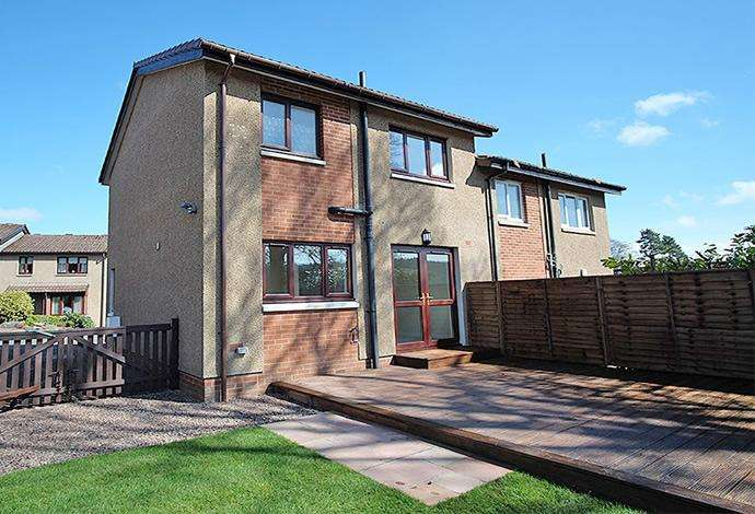 2 Bedrooms Semi Detached House for sale in 16 Kingsknowe Place, Galashiels, TD1 3JF