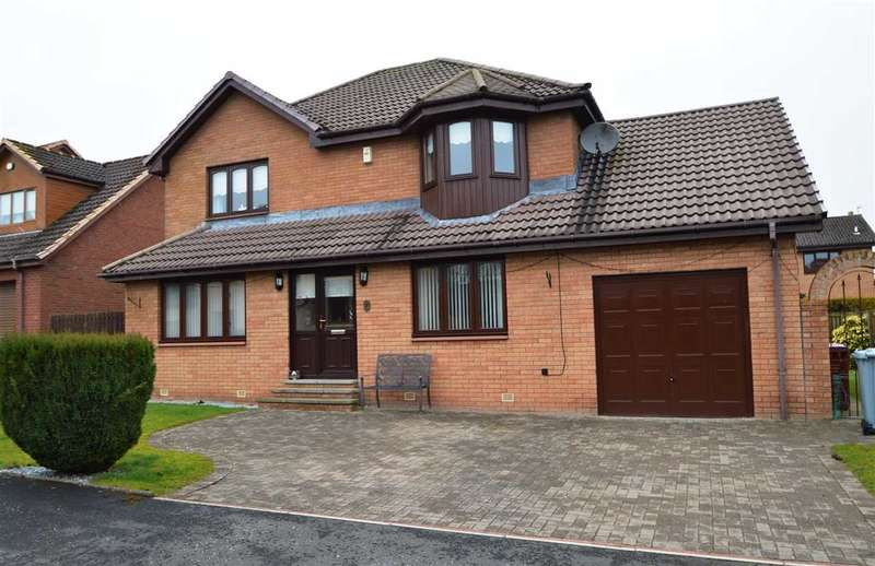 4 Bedrooms Detached House for sale in Rowan Grove, Quarter, Hamilton