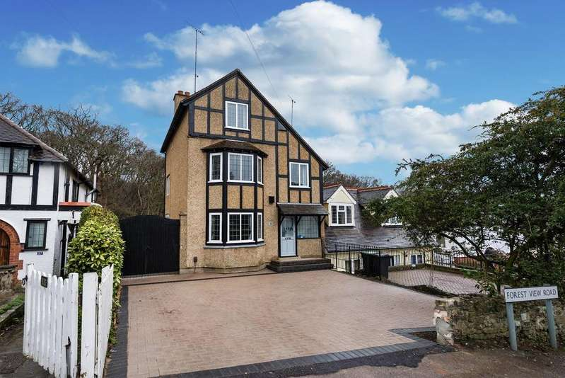 4 Bedrooms Semi Detached House for sale in Forest View Road, Loughton
