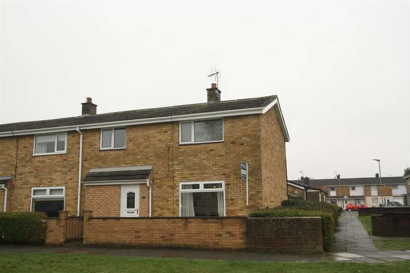 3 Bedrooms End Of Terrace House for sale in Kemble Green South, Newton Aycliffe